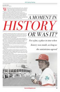 Pete Rose - A Moment in History