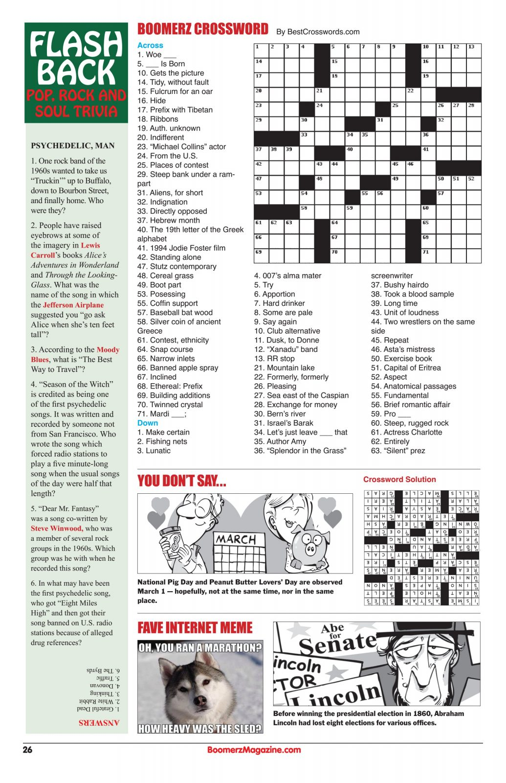 Pop-Rock-and-Soul-Trivia-Crossword-puzzle