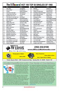 Billboard top 50 Hits of 1968 - Wilcox Multimedia - Social Security