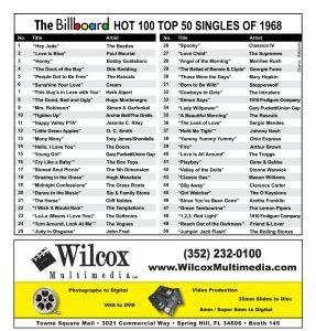 Billboards of 1968 - Wilcox Multimedia