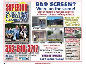 Superior Screening and Pressure Washing