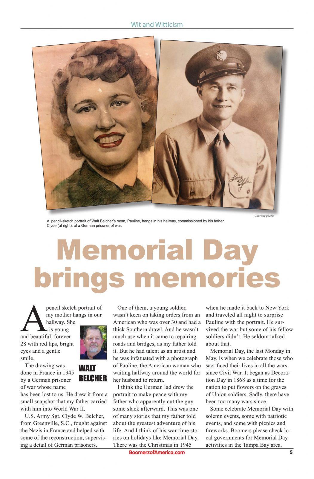 05 May 2019 Boomerz of America Memorial Day brings memories