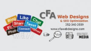 CFA Web Designs Biz Card