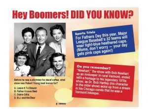 Hey Boomers did you Know - Fathers Day