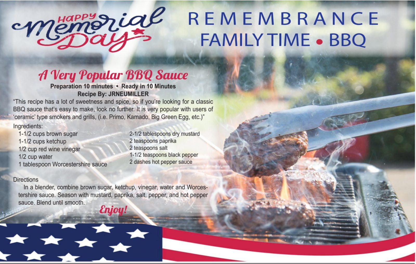 Memorial Day BBQ Sauce