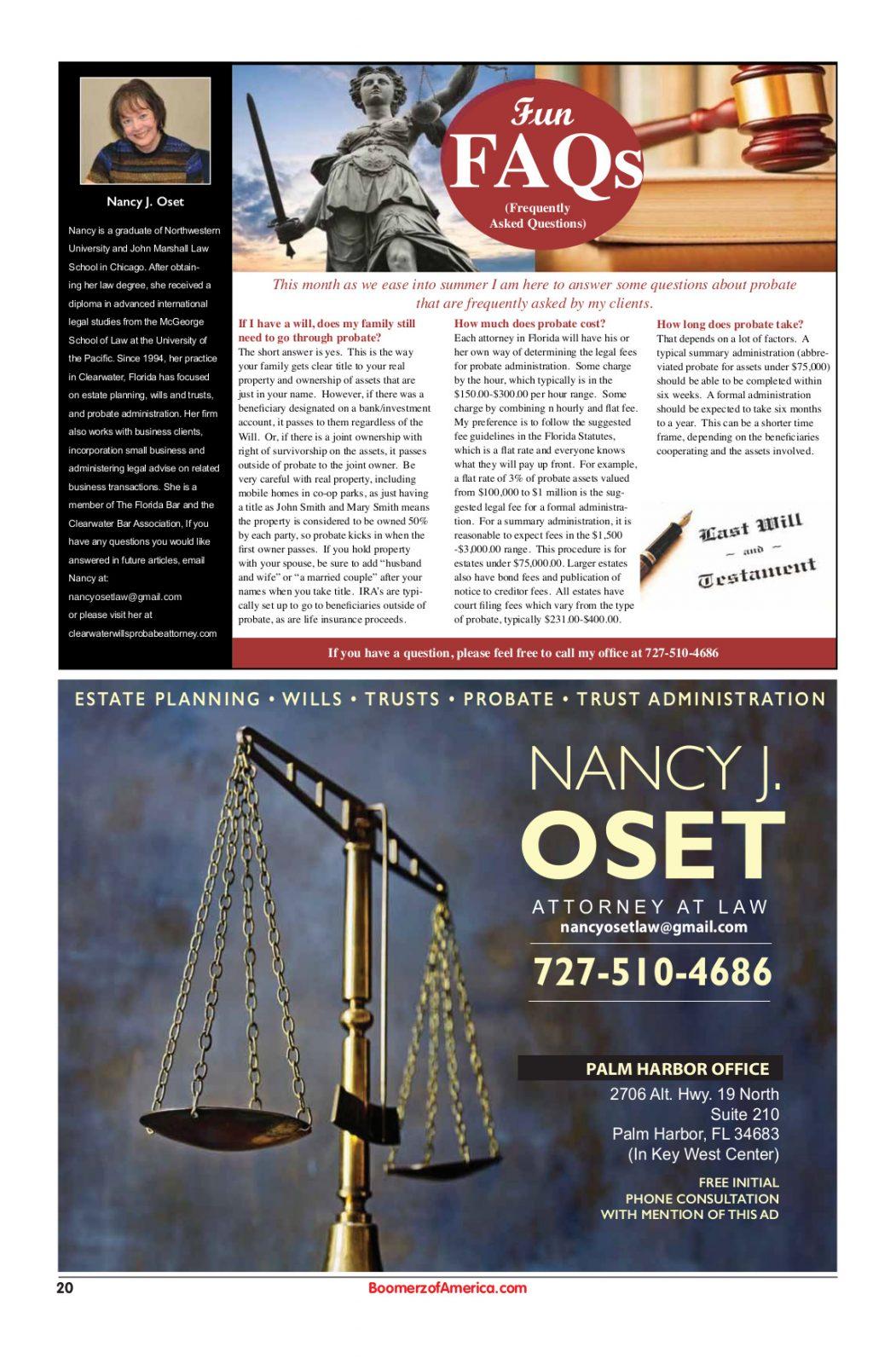Nancy Oset - Wills-Trusts-Probate-Estate Planning 05-19