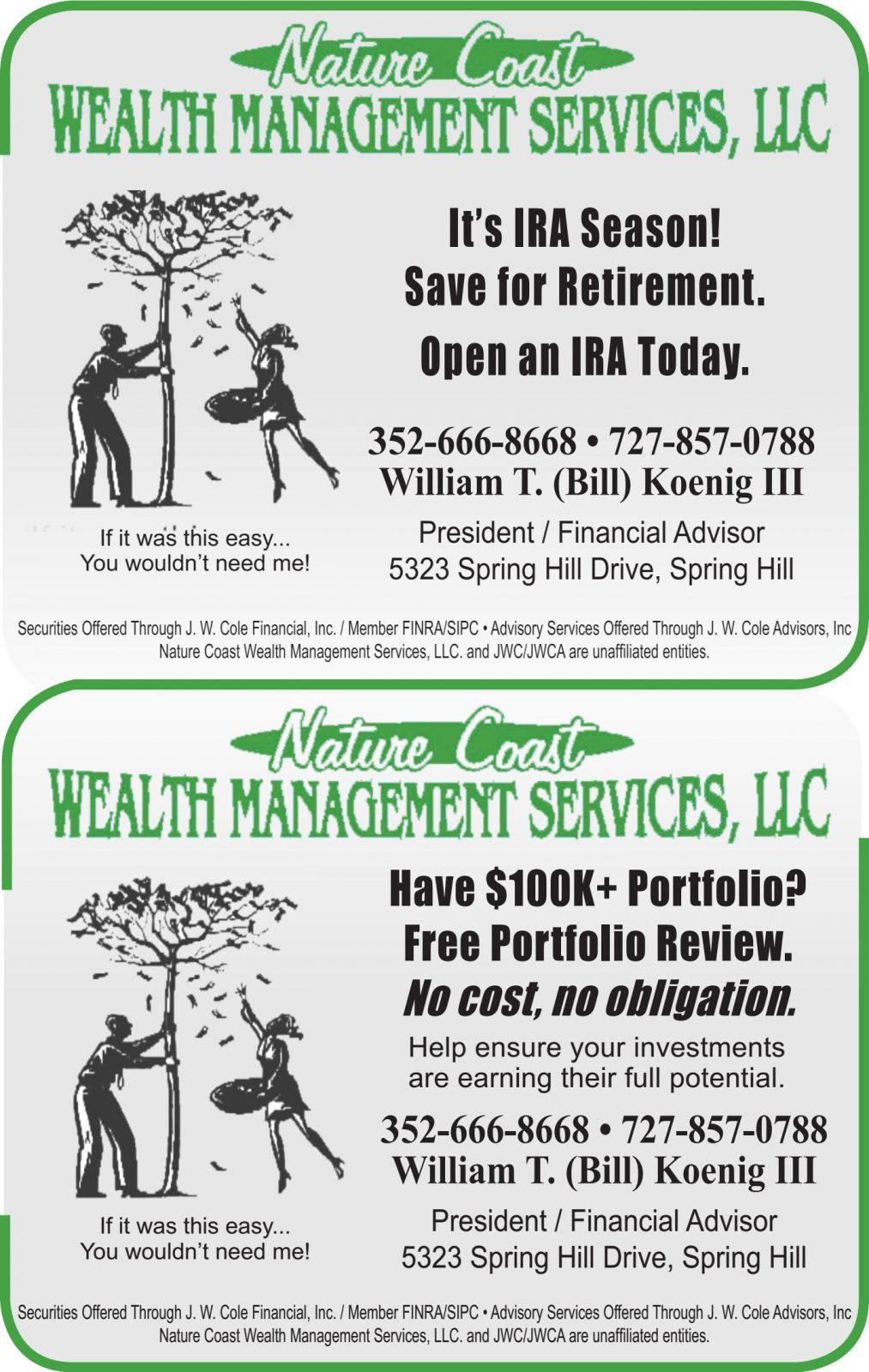 Nature Coast Wealth Management Services