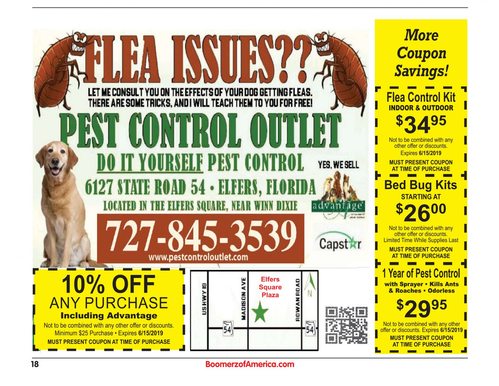 Pest Control Outlet 05-19