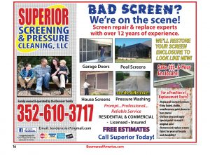 Superior Screening and Pressure Cleaning