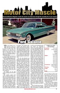 Motor City Muscle Ford Galaxie 1960