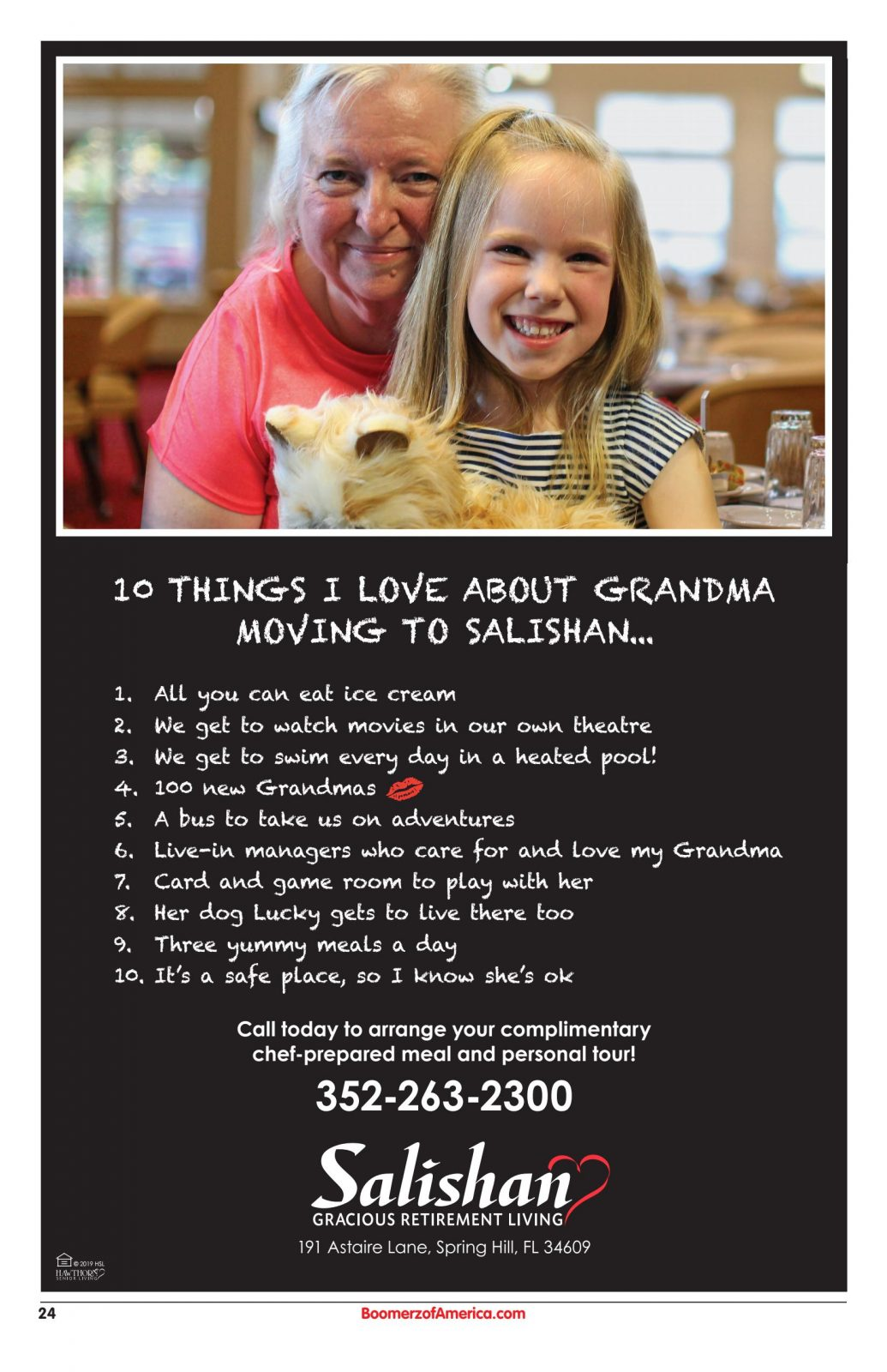10 Things I Love About Grandma Moving to Salishan