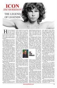 Icon Jim Morrison June 2019 Article