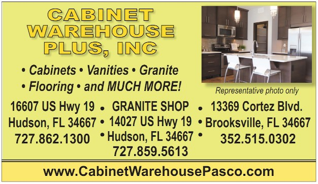Cabinet Warehouse business card