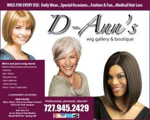 D Ann's Wigs June 2019 Boomerz of America