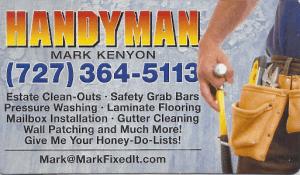 Handyman Mark Kenyon