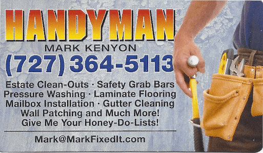 Handyman Mark Kenyon