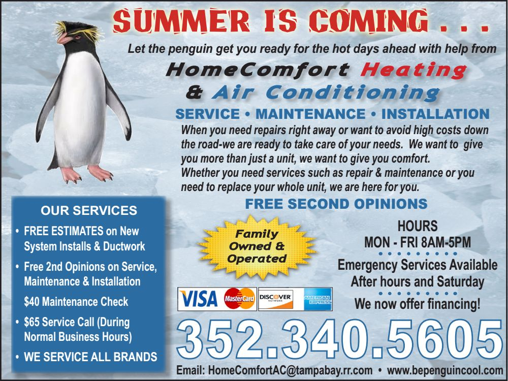 Home Comfort AC - Boomerz of America June 2019