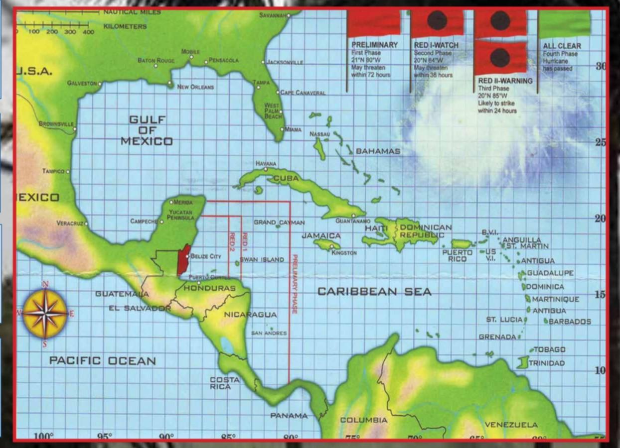 2019 Hurricane Chart