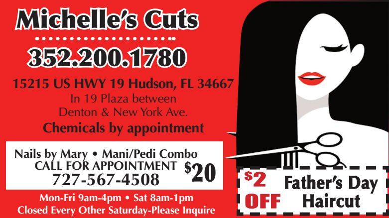 MICHELLE'S CUTS - Boomerz June 2019