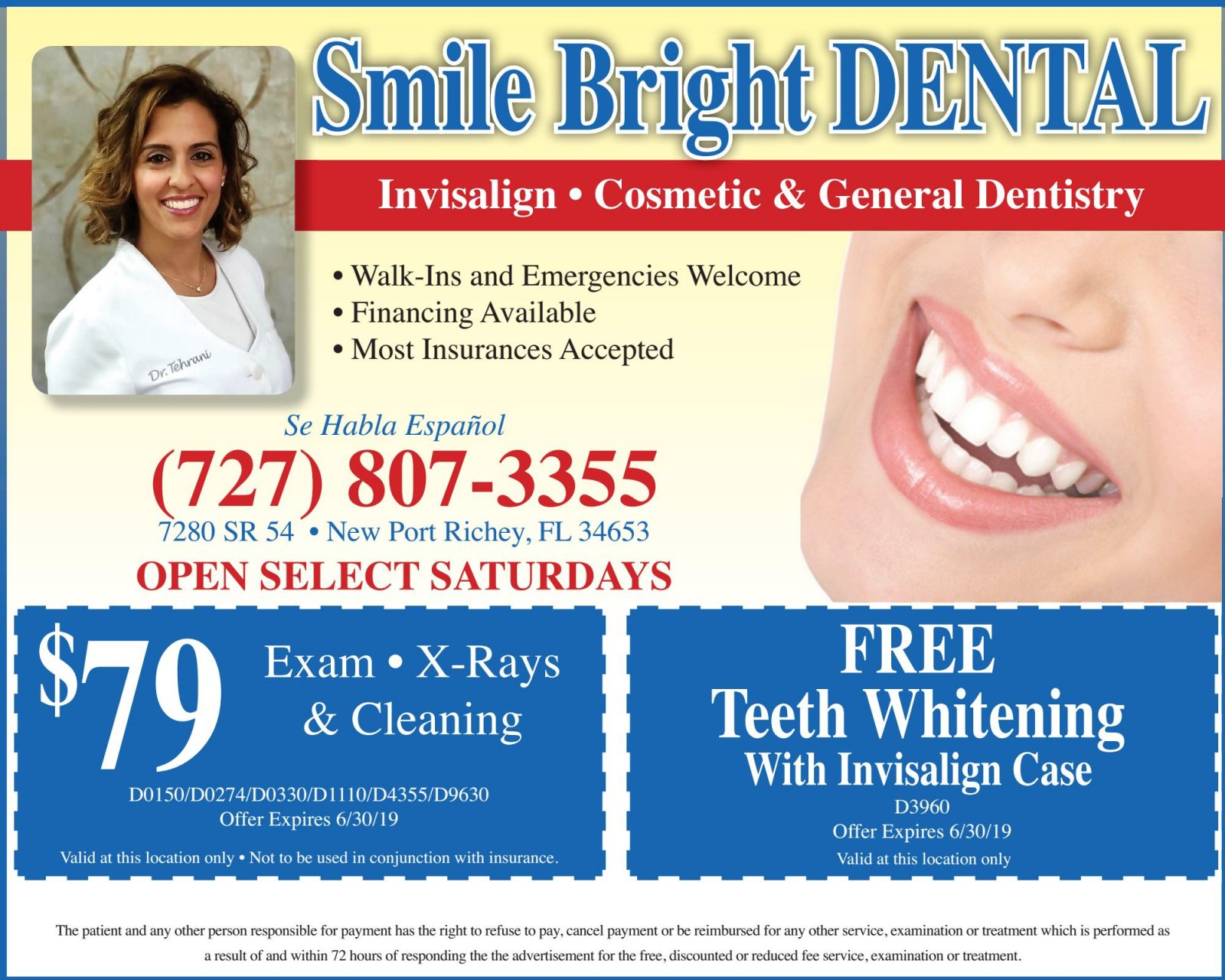 Smile Bright Dental - Boomerz of America June 2019