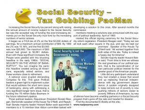 Social Security - Tax Gobbling Pac Man - Boomerz of America June 2019