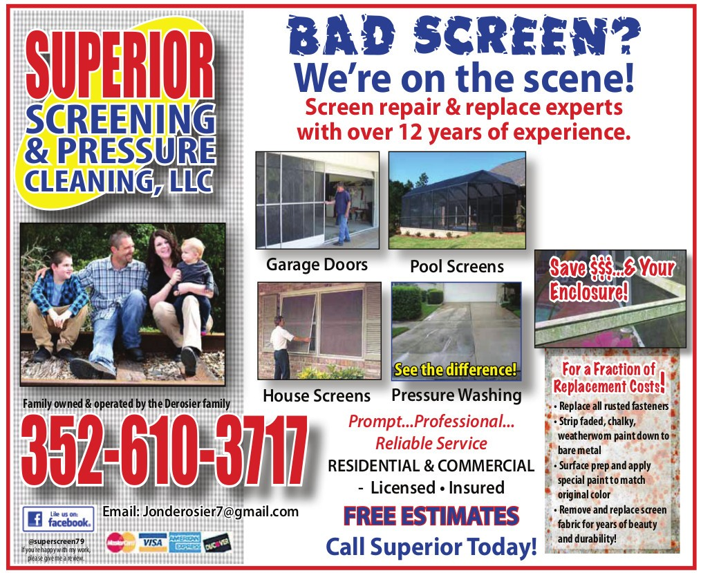 Superior Screens - Boomerz of America June 2019