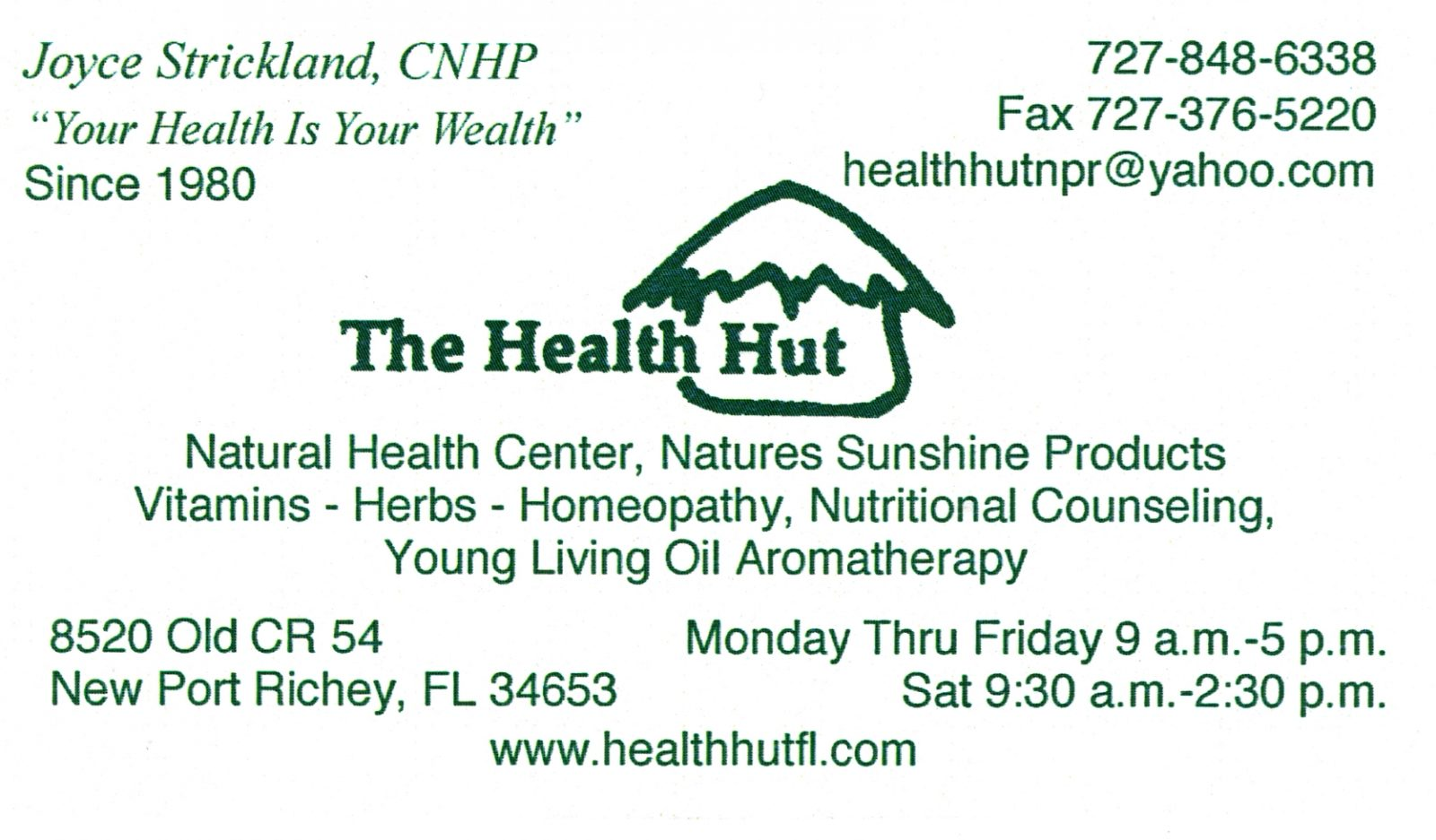 The Health Hut
