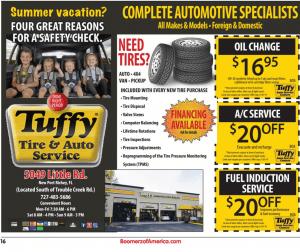 Tuffy Auto Care - Boomerz of America 2019