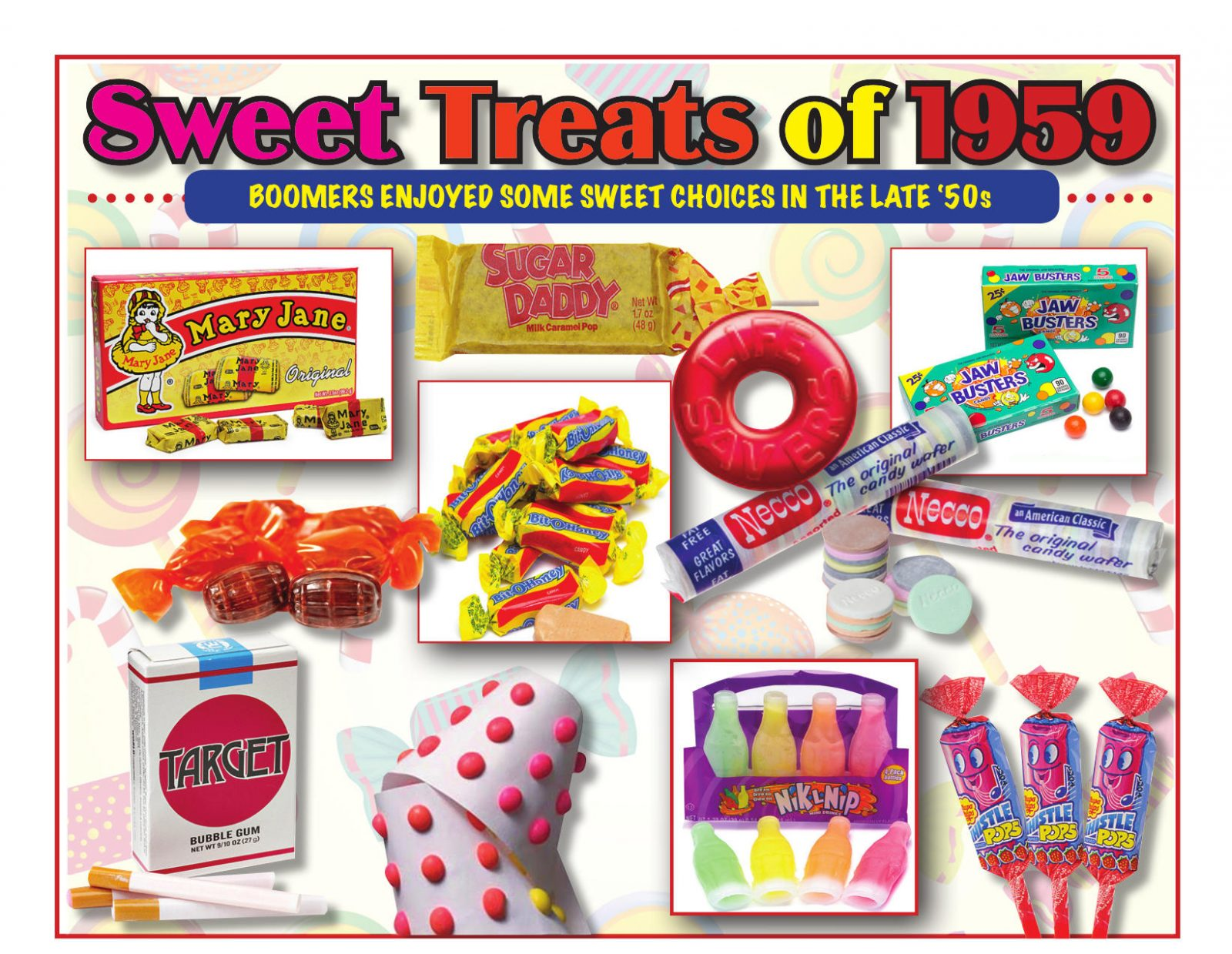 07-July-2019 Boomerz of America Sweet Treats of 1959
