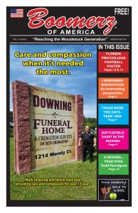 Boomerz August 2019 Downing Funeral Homes