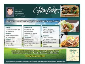 Boomerz August 2019 Glen Lakes Country Club