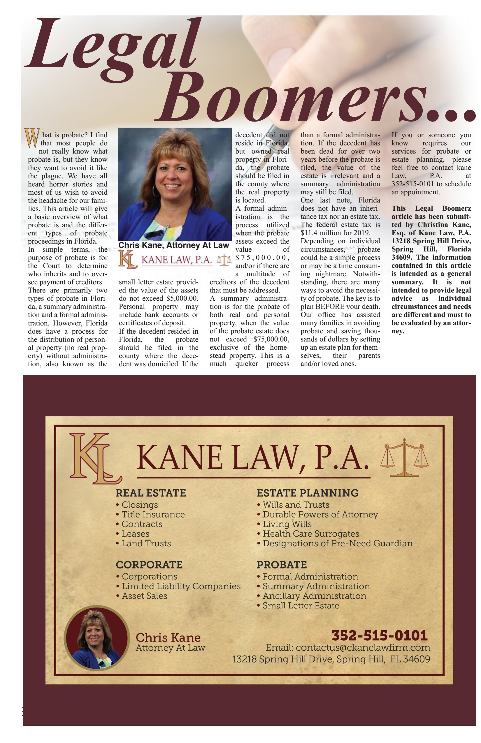 Kane Law